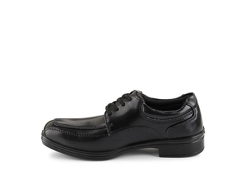 DEER STAGS Boys Infant Sharp Oxford - BLACK