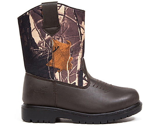 Boys Tour Western Boot