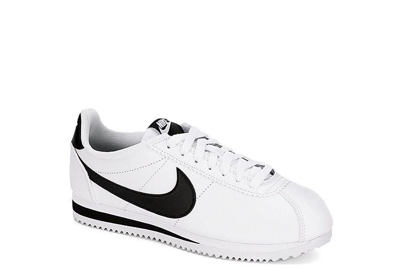 malicioso Camello entregar  White Nike Womens Cortez Sneaker | Athletic | Rack Room Shoes