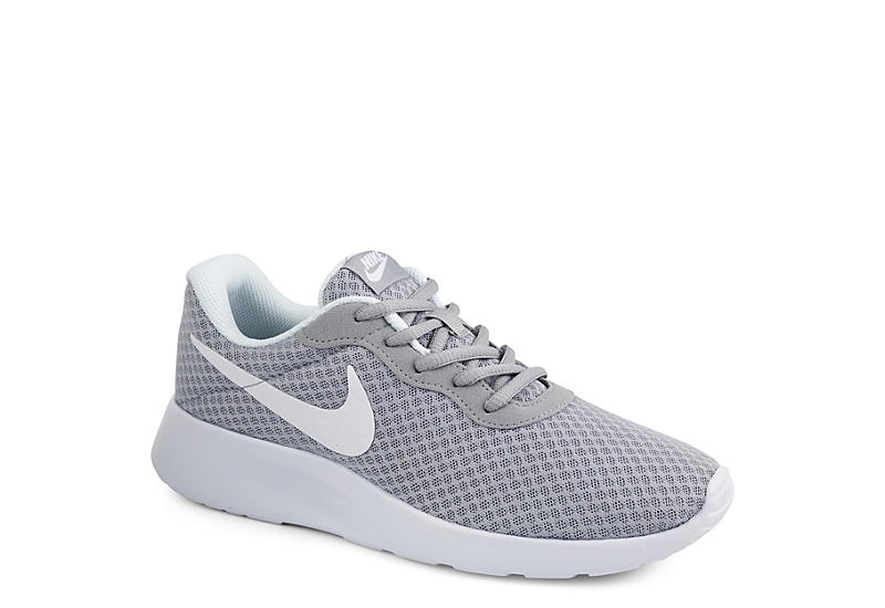 Grey Nike Tanjun Women s Running Shoes  785f3e313