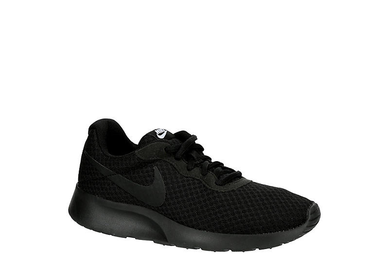 a03b31fdbc3a All Black Women s Nike Tanjun Running Shoes