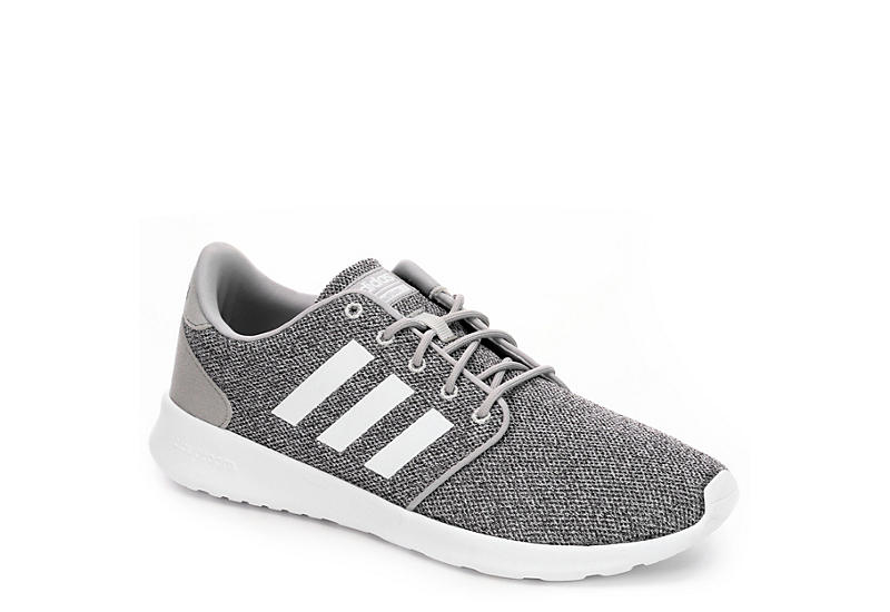 adidas cloudfoam racer qt ladies trainers grey