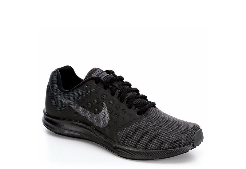 d62ccfde00e17 Black Women s Nike Downshifter 7 Running Shoes
