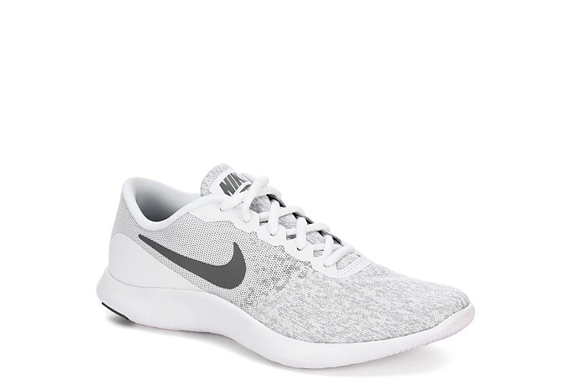 White Nike Flex Contact Women s Running Shoes  a5822638f