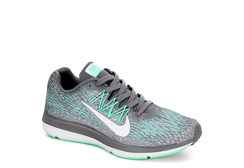 Grey Nike Womens Zoom Winflo 5  8f1549b8c3