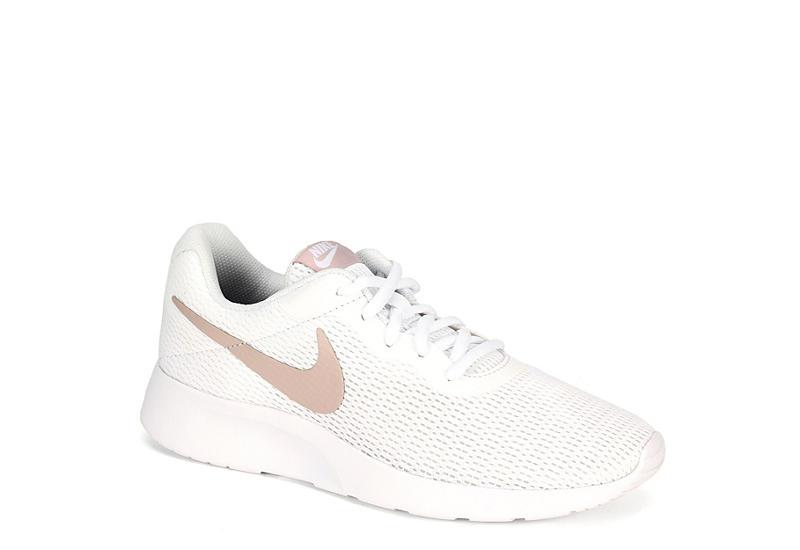 62cca08c53ab White Nike Tanjun Women s Sneakers