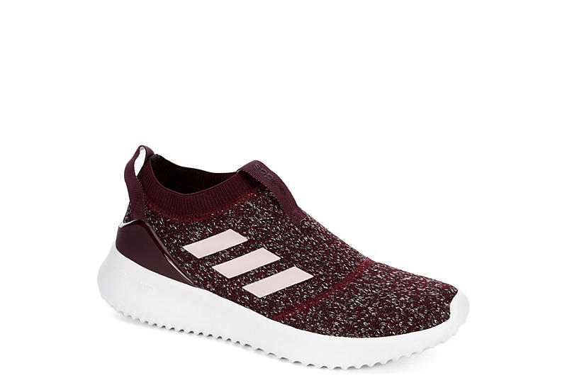 be6c65a4f8c Burgundy adidas Ultimafusion Women s Knit Sneakers