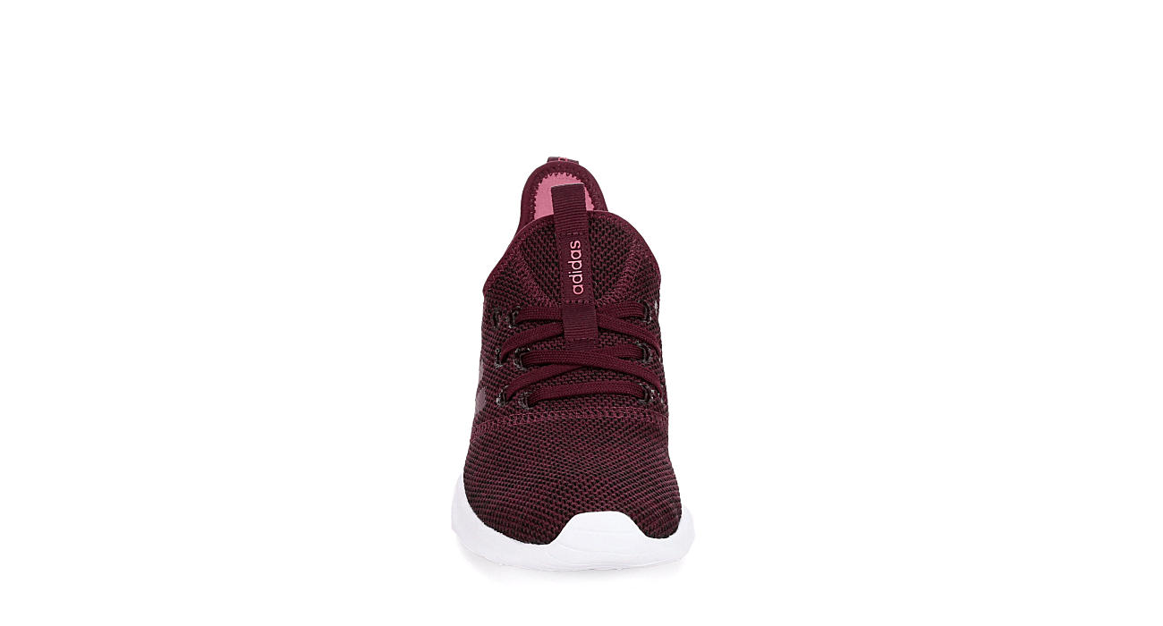 1ca58bc4ef3 Burgundy adidas Cloudfoam Pure Women s Sneakers