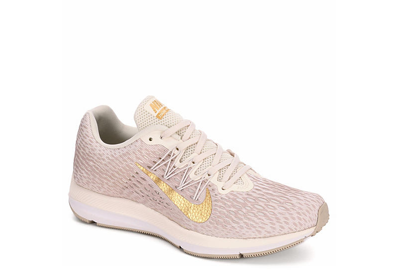 new concept ee484 d0d5a BEIGE NIKE Womens Zoom Winflow 5