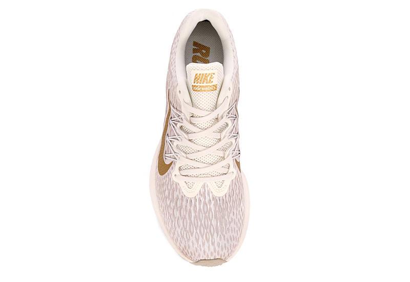NIKE Womens Zoom Winflow 5 Running Shoe - BEIGE