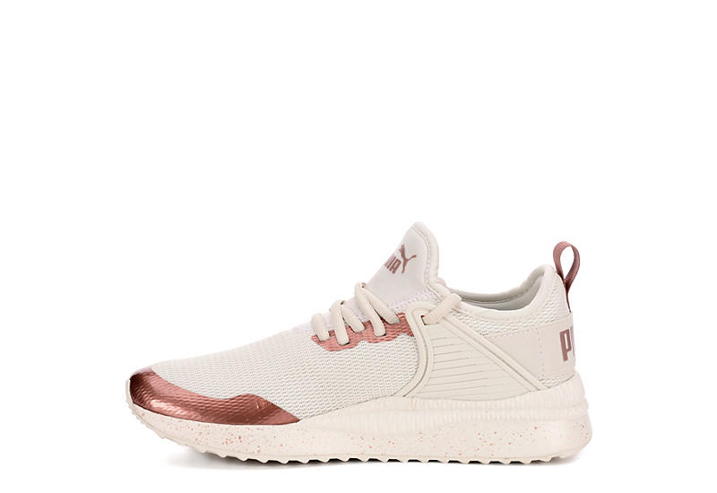 Puma Womens Pacer Next Cage Met Speckle Off White