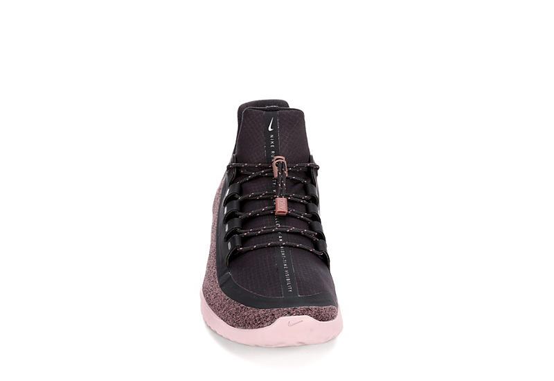 NIKE Womens Renew Rival Shield Sneaker - GREY