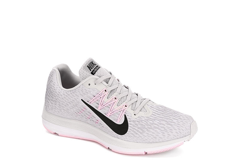 GREY NIKE Womens Zoom Winflo 5