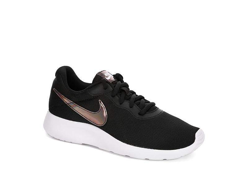 cheaper amazing price latest BLACK NIKE Womens Tanjun Metallic