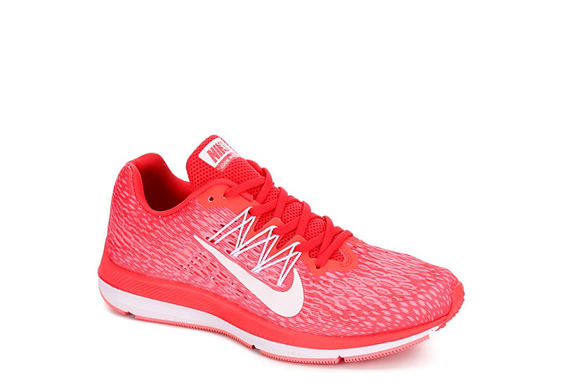 abe43569bde Coral Nike Womens Zoom Winflo 5 | Athletic | Rack Room Shoes