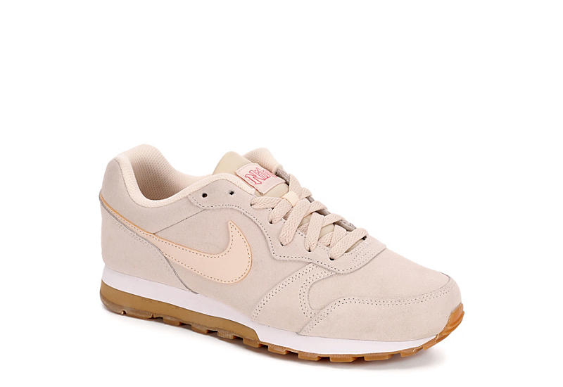 TAN NIKE Womens Md Runner 2 Se
