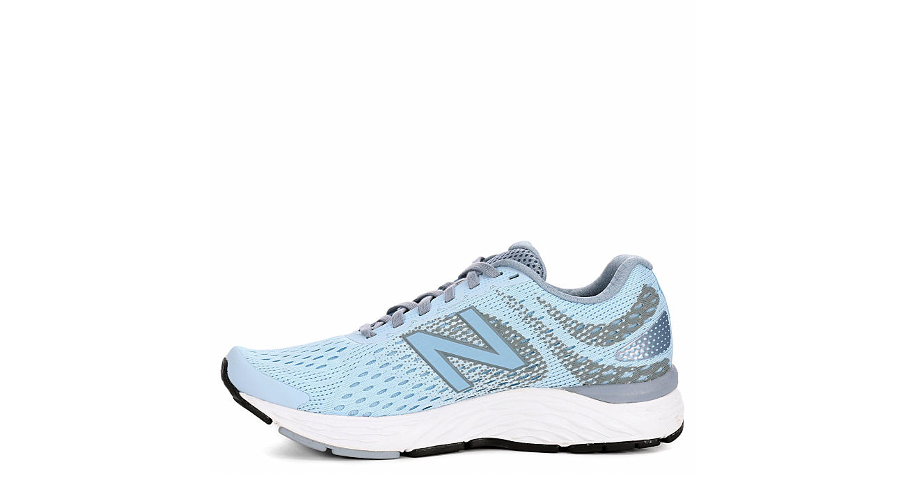 NEW BALANCE Womens W680 Wides Available - PALE BLUE