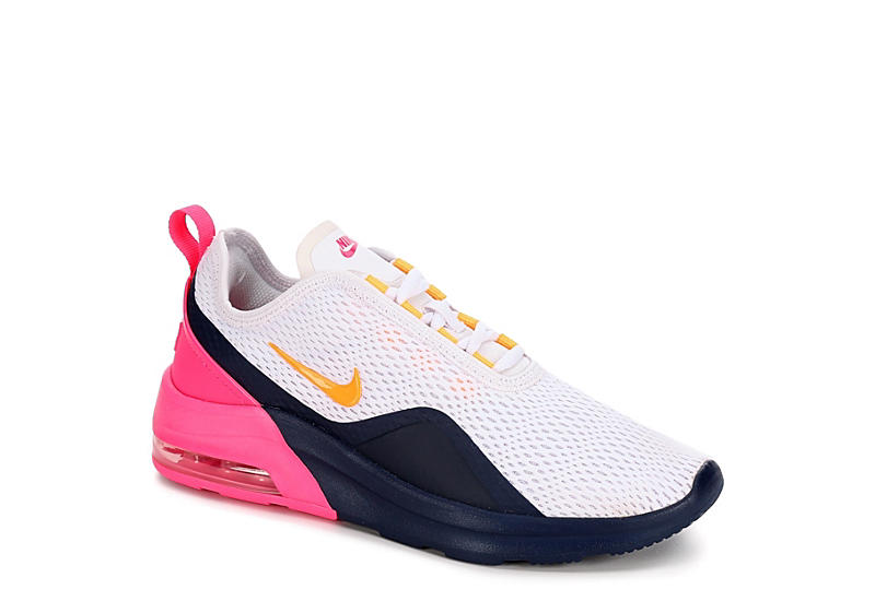 WHITE NIKE Womens Air Max Motion 2