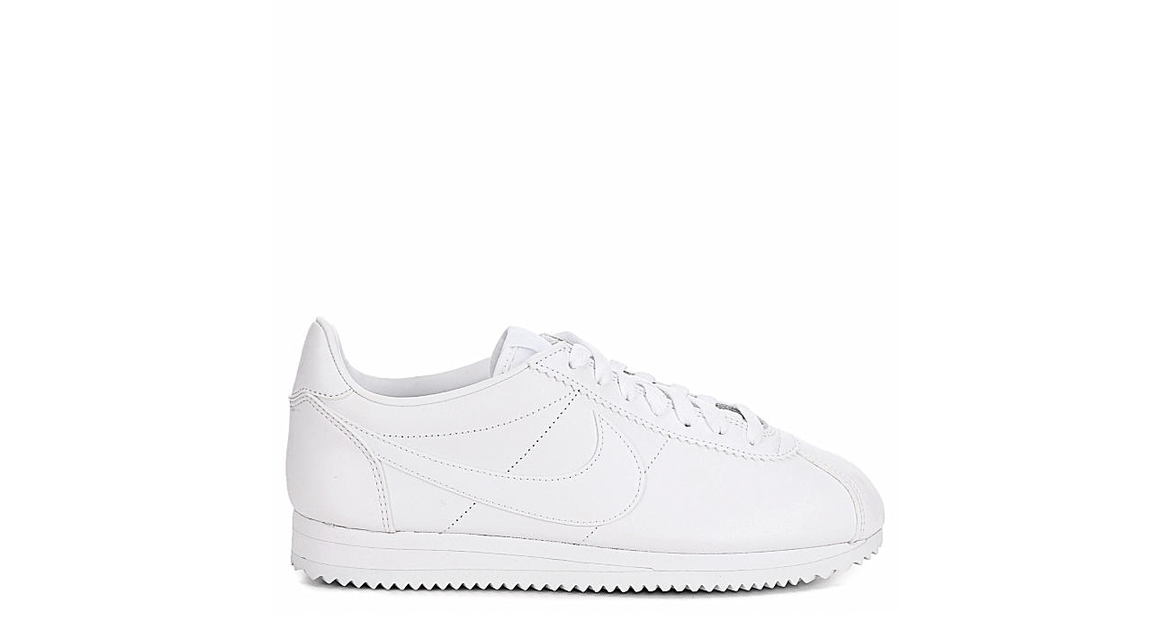 NIKE Womens Cortez - WHITE