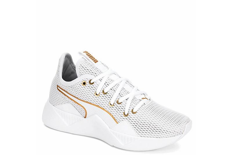 PUMA Womens Incite Nu Sneaker - WHITE