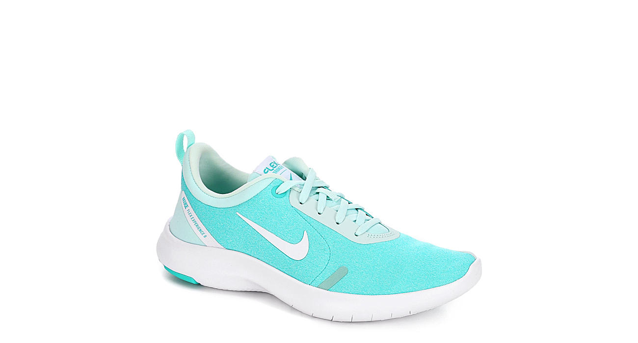 NIKE Womens Flex Exerience Rn 8 Running Shoe - TEAL
