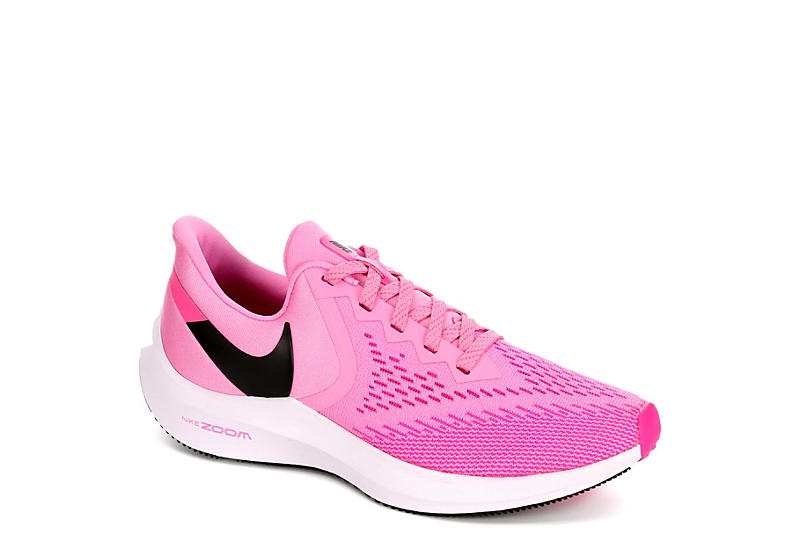 pink nike shoes women