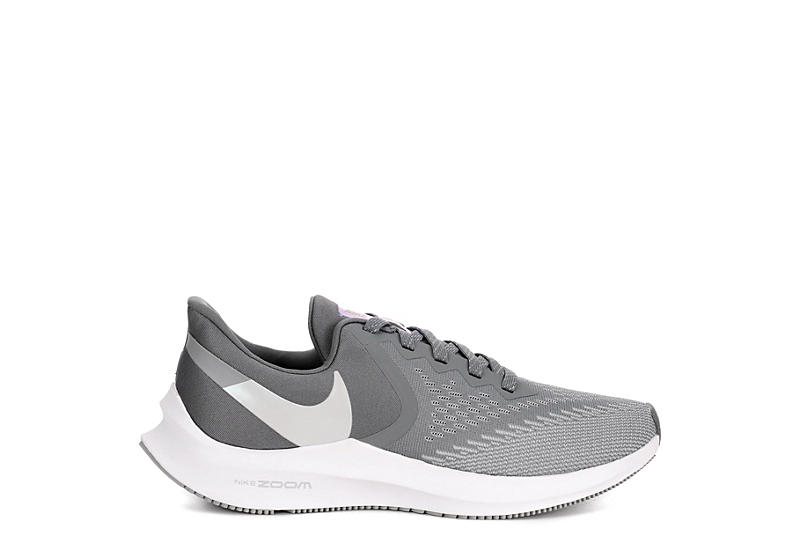 NIKE Womens Zoom Winflow 6 Running Shoe - WHITE