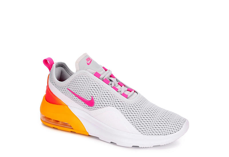 SILVER NIKE Womens Air Max Motion 2