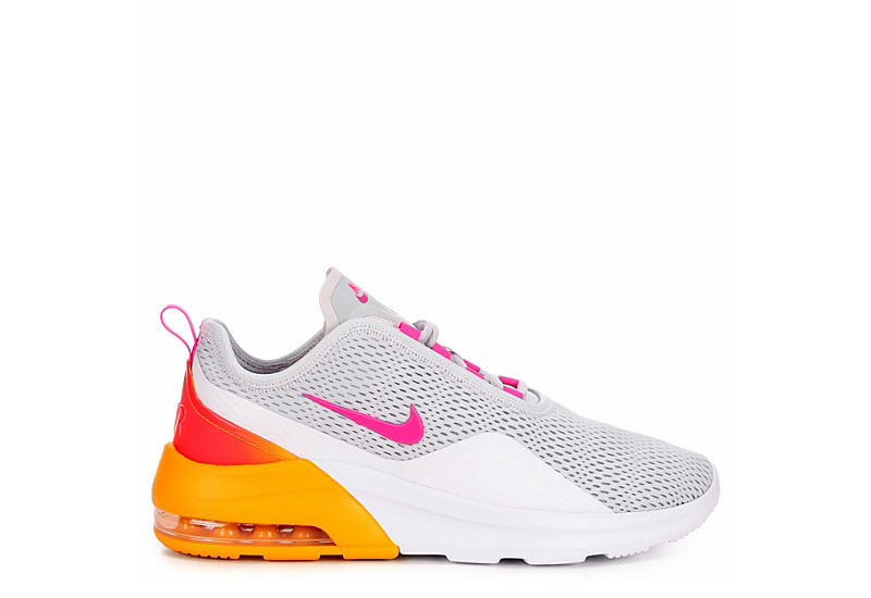 NIKE Womens Air Max Motion 2 Sneaker - SILVER