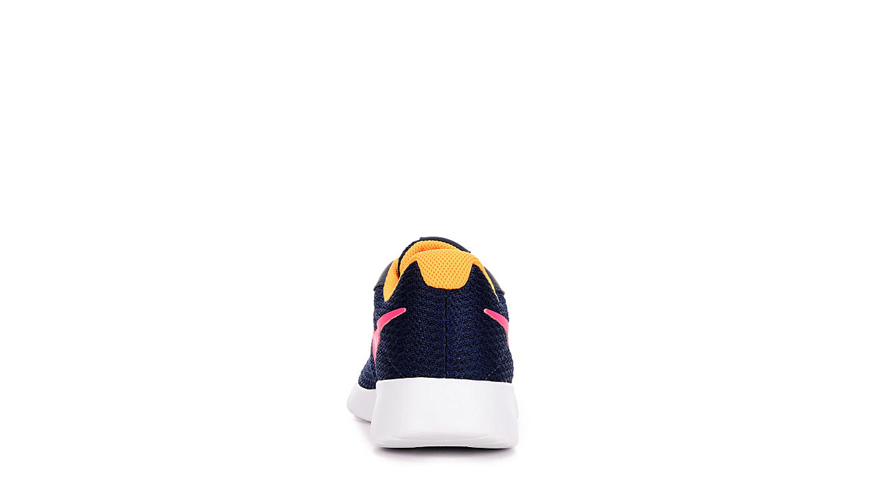 NIKE Womens Tanjun Sneaker - NAVY