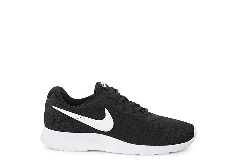 238c96f882a7f Black   White Nike Tanjun Men s Running Shoes