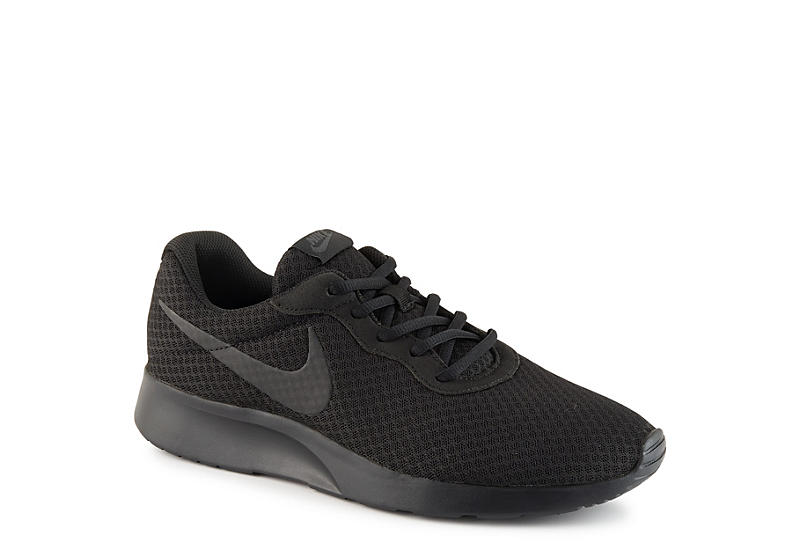 BLACK NIKE Mens Tanjun