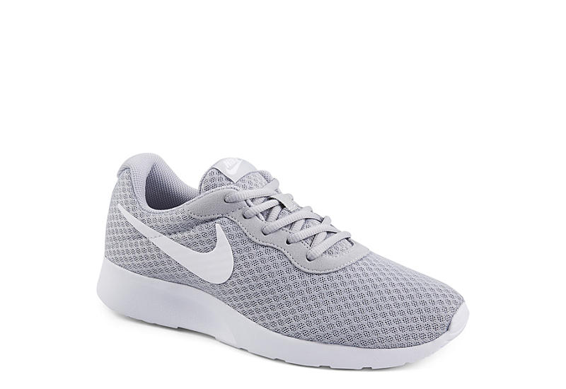 606b68fd339 Grey   White Nike Tanjun Men s Running Shoes