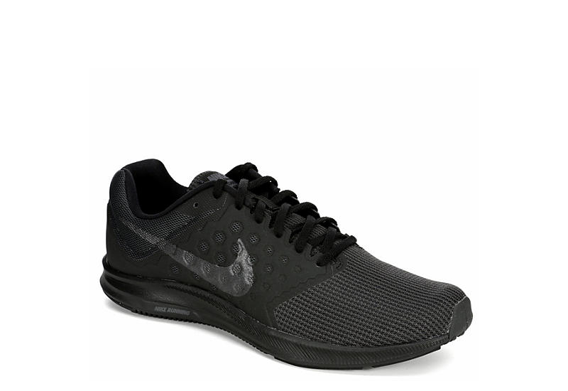 86d0a4267b0a All Black Men s Nike Downshifter 7 Running Shoes