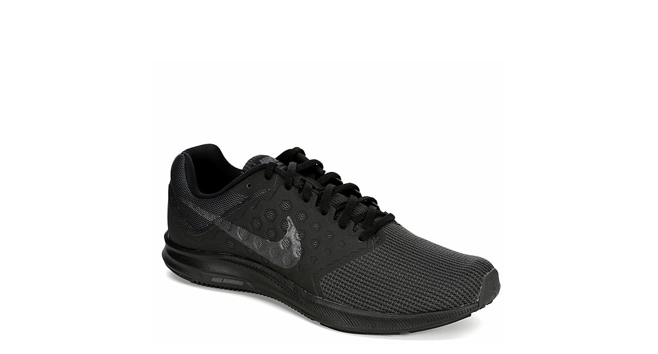 44eae4a0bc750 All Black Men s Nike Downshifter 7 Running Shoes