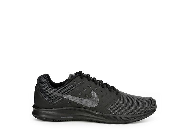 17e7efec34e1 All Black Men s Nike Downshifter 7 Running Shoes