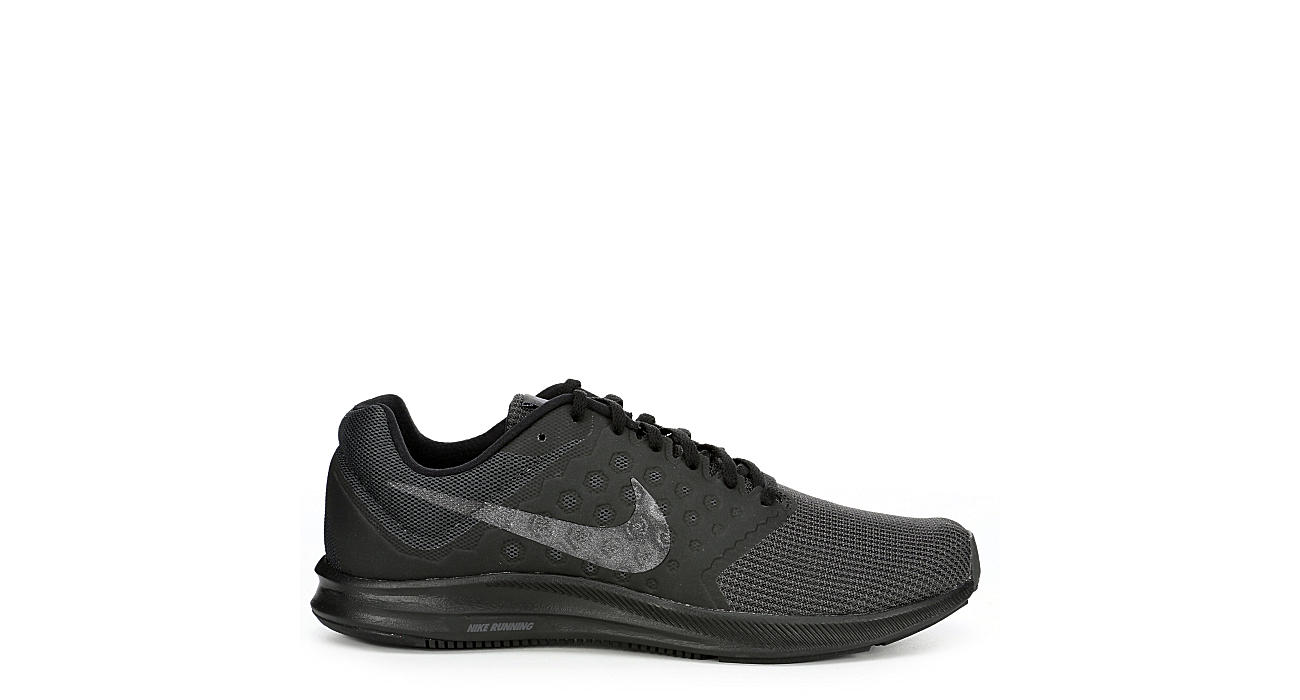 5470b099fc1 All Black Men s Nike Downshifter 7 Running Shoes