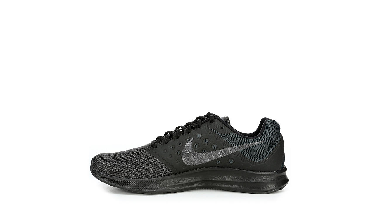93346175066 All Black Men s Nike Downshifter 7 Running Shoes