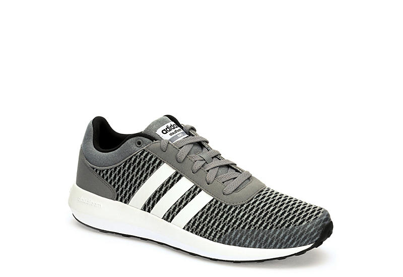 adidas cloudfoam racer mens trainers grey