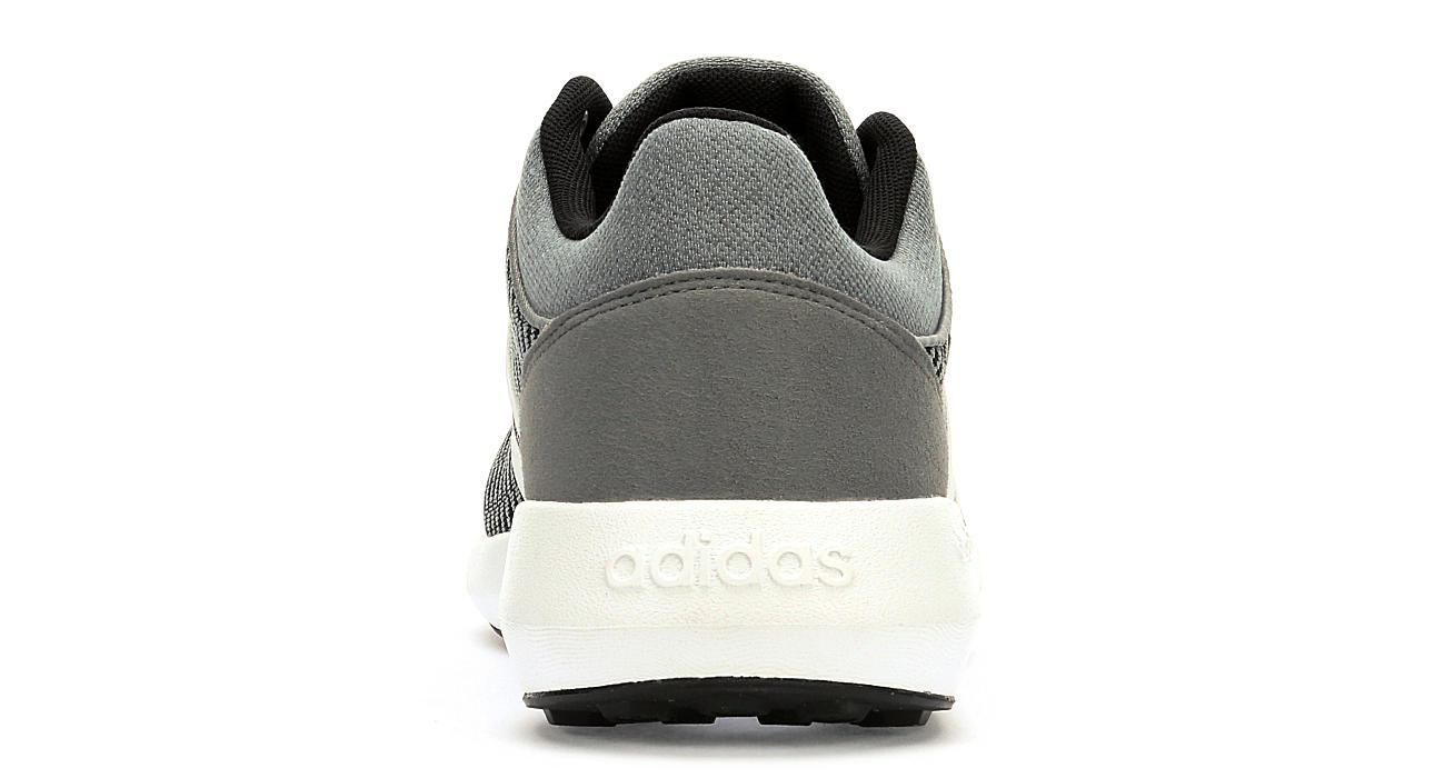 adidas men's cloudfoam race grey