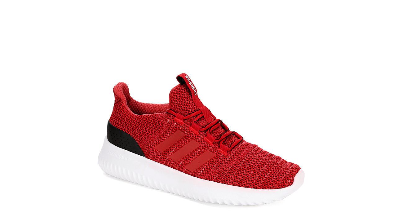 rosse adidas mens cloudfoam ultimate atletico rack stanza scarpe