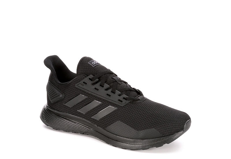 b9b8b050154 All Black adidas Duramo 9 Men s Running Shoes
