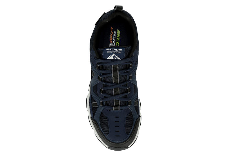 SKECHERS Mens Crossbar Walking Shoe - NAVY