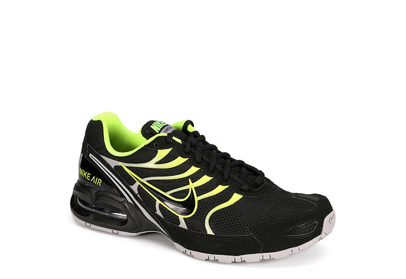 38c416983cc Black   Yellow Nike Air Max Torch 4 Men s Running Shoes