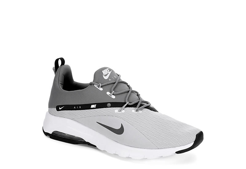 Grey Nike Air Max Motion Racer 2 Men s Sneakers  c9bbe8875