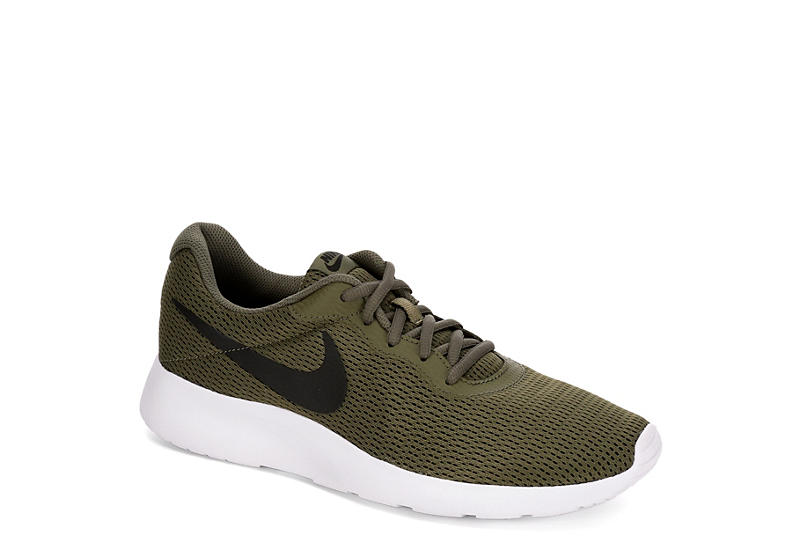 fe45bf3eb Olive Nike Tanjun Men's Running Shoes | Rack Room Shoes