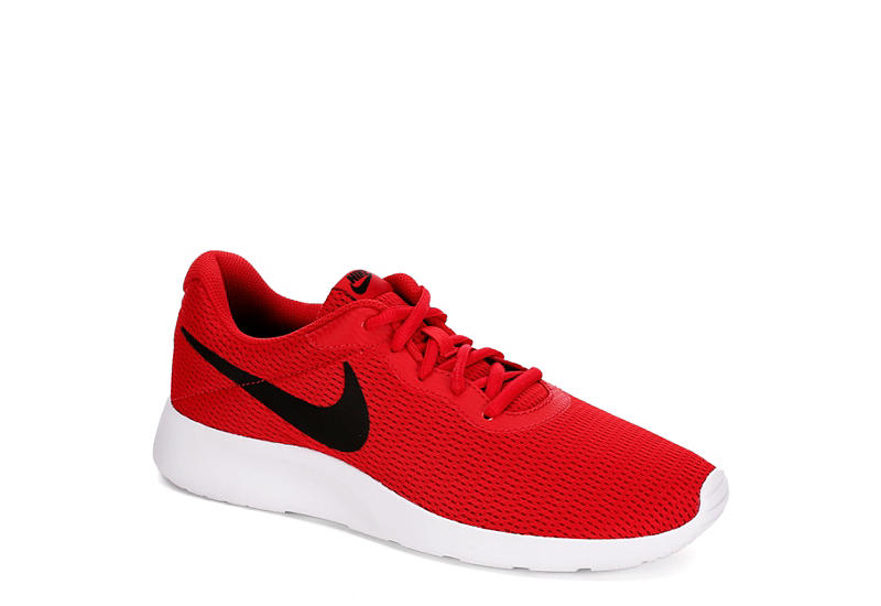 red and black nike
