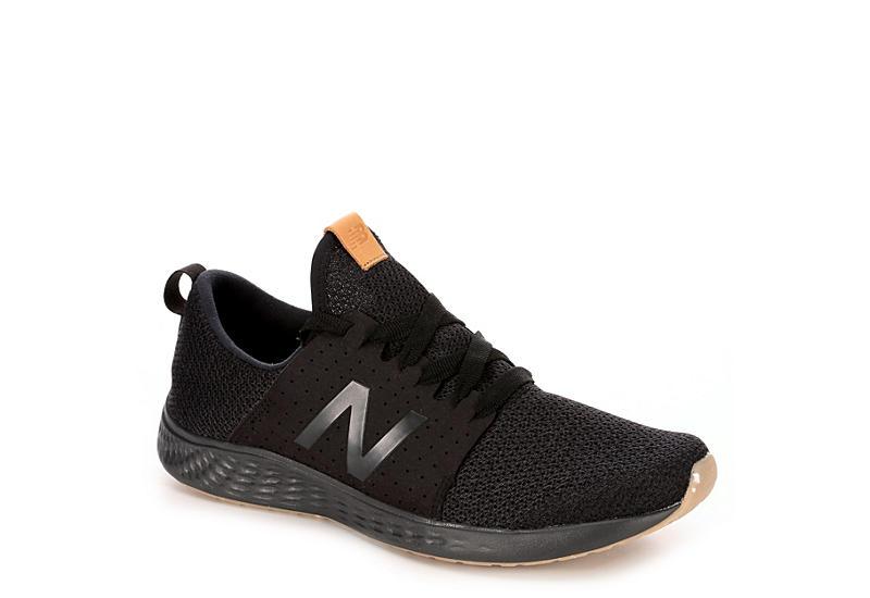 9c06c698 BLACK NEW BALANCE Mens Fresh Foam Sport