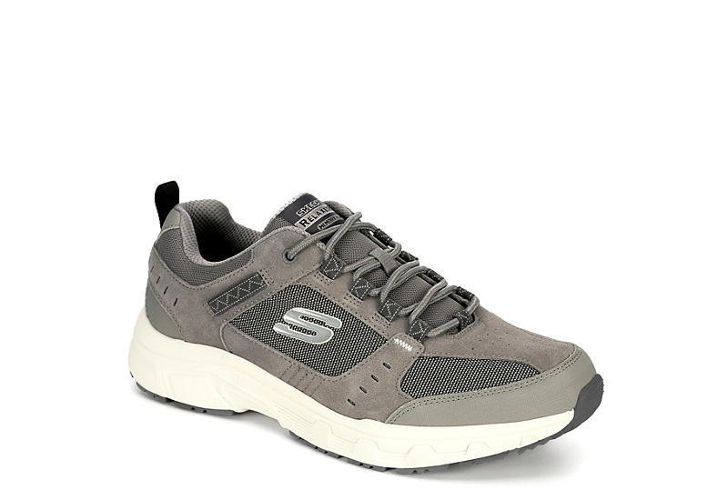 5b157a5b900 Grey Skechers Mens Oak Canyon