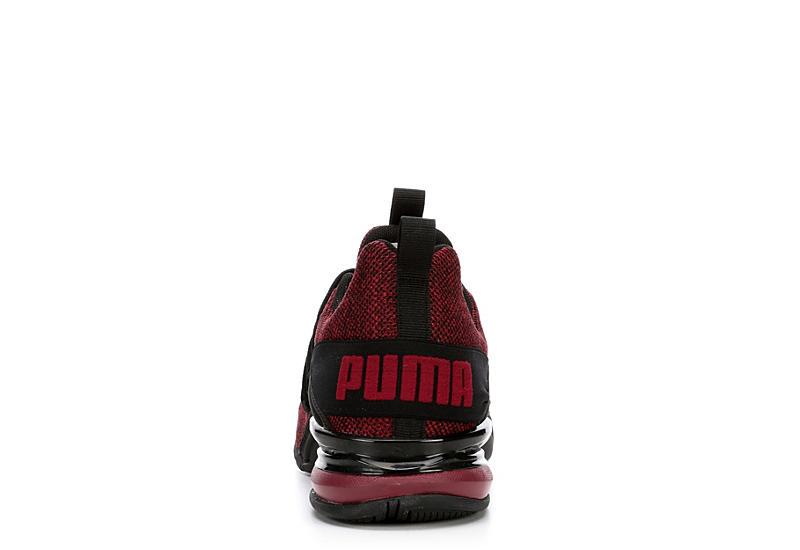 PUMA Mens Axelion - BURGUNDY